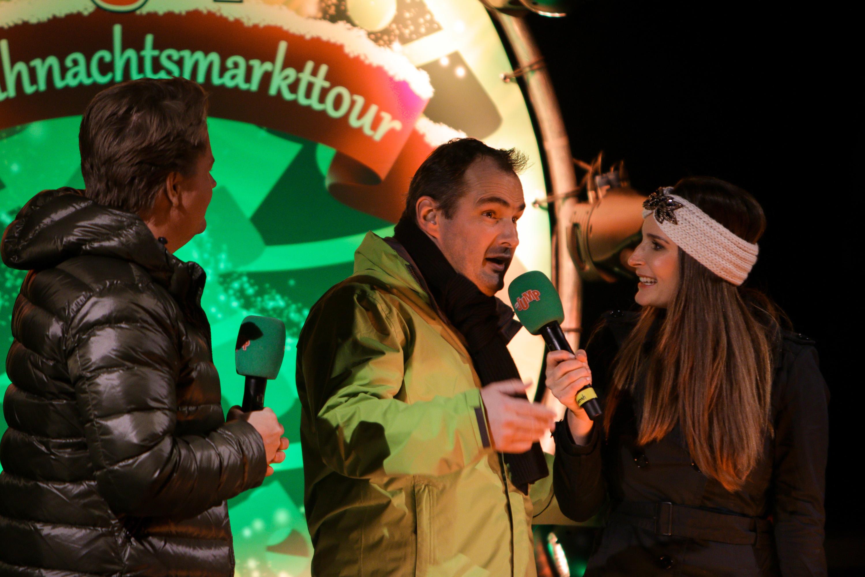 Rappelvoller Hauptmarkt bei MDR JUMP Weihnachtsshow in Gotha ...