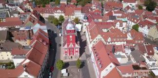 Gotha, Zentrum Rathaus Hauptmarkt