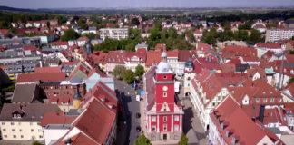 Gotha Rathaus Zentrum Hauptmarkt