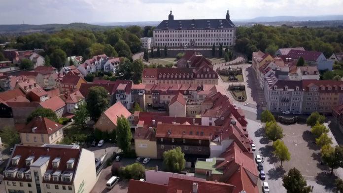 Friedenstein Gotha Hauptmarkt