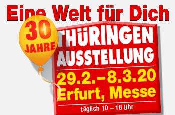 Thueringen Ausstellung Messe Erfurt